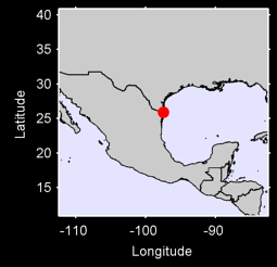 BROWNSVILLE RIO GRANDE VLY IN Local Context Map