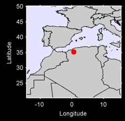 SIDI-BEL-ABBES Local Context Map