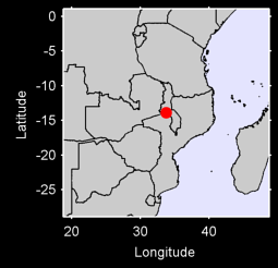 LILONGWE MALAWI/S. RHODESIA Local Context Map