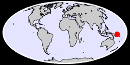 RABAUL  NEW BRITAIN IS. Global Context Map