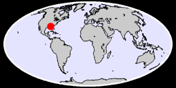 BAY MINETTE 3 NNW Global Context Map