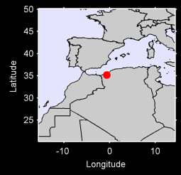 SIDI-BEL-ABBAS Local Context Map