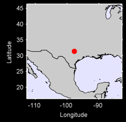 GATESVILLE 4 SSE Local Context Map