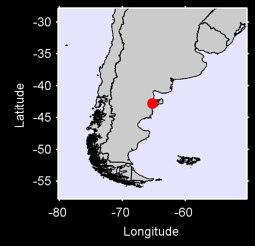 PUERTO MADRYN B. A. Local Context Map