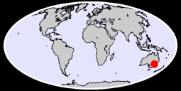TRANGIE POST OFFICE Global Context Map