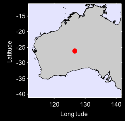 WARBURTON RANGE AUSTRALIA W. Local Context Map