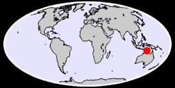 CAPE FOURCROY Global Context Map