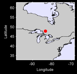 CHAPLEAU 2,ON Local Context Map